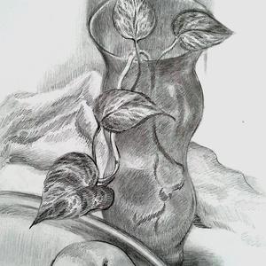 Futó levelek, Művészet, Grafika & Illusztráció, Fotó, grafika, rajz, illusztráció, Meska