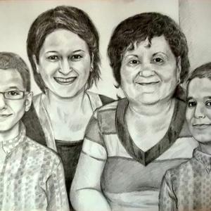 Családi portré 4-8 főig (Nana83) - Meska.hu