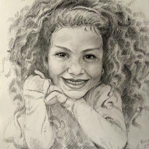 Egy személyes portré vagy karikatúra  grafitceruzával (Nana83) - Meska.hu