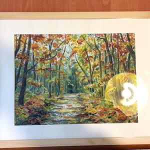 A háborítatlan erdő - akvarell (Nana83) - Meska.hu