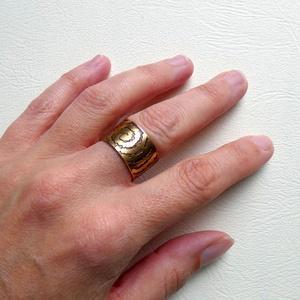Örvény, Ékszer, Gyűrű, Figurális gyűrű, Ötvös, Fémmegmunkálás, Meska
