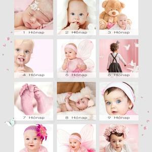 Egyedi kislány fényképes 1 éves szülinapi poszter kerettel, 1 éves szülinapi ötlet ajándékba, Babanapló, 12 hónap fotói, Jegyzetfüzet & Napló, Papír írószer, Otthon & Lakás, Mindenmás, Készülsz a nagy napra? \nMár 1 éves a kislányod, vagy szeretted gyermeke? Akkor jó helyen jársz.\nEz a..., Meska