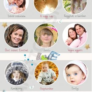 Egyedi kislány fényképes 1 éves szülinapi poszter kerettel, 1 éves babaposzter, Babanapló, 12 hónap fotói, Falinaptár & Öröknaptár, Dekoráció, Otthon & Lakás, Mindenmás, Készülsz a nagy napra? \nMár 1 éves a kislányod, vagy szeretted gyermeke? Akkor jó helyen jársz.\nEz a..., Meska