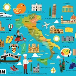 Olaszország itália szülinapi poszter kerettel, Mókás ajándék olasztanároknak, olaszország szerelmeseinek, falidekor prin, Dekoráció, Otthon & lakás, Gyerek & játék, Gyerekszoba, Lakberendezés, Képkeret, Képkeret, tükör, Fotó, grafika, rajz, illusztráció, Ti piace l\'Italia? Tetszik neked Olaszország?\nHa te is szereted ezt a vidám nyelvű, történelemben, é..., Meska