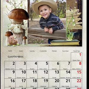 egyedi fényképes falinaptár naptár kézzel rajzolt egyedi design asztali naptár karácsonyi képeslap családi szabályok, Baba-mama-gyerek, Naptár, képeslap, album, Dekoráció, Naptár, Mindenmás, Fotó, grafika, rajz, illusztráció, Mi lehet fontosabb az életünkben, mint a családunkban, szeretetteink között átélt különböző ünnepi ..., Meska