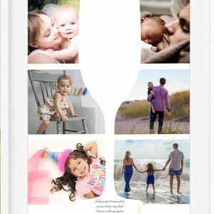 Egyedi fényképes borosüveg poszter KERETTEL, Születésnapi poszter esküvői nászajándékba, Kerek évforduló emléklap 50 év, Kép & Falikép, Dekoráció, Otthon & Lakás, Fotó, grafika, rajz, illusztráció, Valami frappáns ajándékot keresel kerek évfordulós születésnapra, nászajándékba, esküvőre, születésn..., Meska