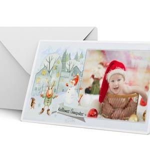 6 db-os karácsonyi képeslap fényképes karácsonyi képeslap csomag 6 db christmas postcard mézi ajándékkisérő hópihe, Karácsonyi, adventi apróságok, Naptár, képeslap, album, Ajándékkísérő, képeslap, Képeslap, levélpapír, Fotó, grafika, rajz, illusztráció, Fényképes karácsonyi képeslapcsomag (6 db-os) Szereted a hagyományokat? Jó érzés adni a másiknak? I..., Meska