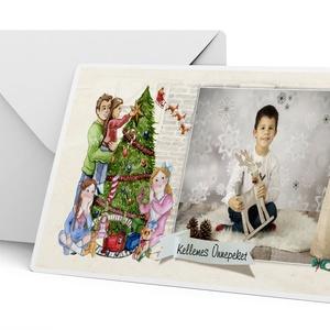 6 db fényképes képeslapcsomag képeslap egyedi fotós különleges karácsonyi ajándék ajándékkisérő télapó advent gyerekrajz, Otthon & Lakás, Karácsony & Mikulás, Fotó, grafika, rajz, illusztráció, Szereted a hagyományokat?\nJó érzés adni a másiknak?\nImádod a karácsonyi adventi időszakot?\nAkkor kés..., Meska
