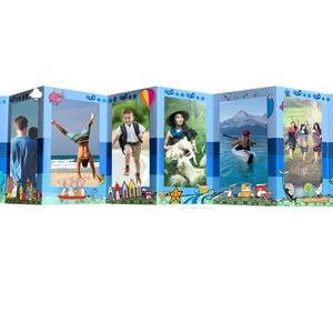 Fénykép album unokákról, fényképes ajándék nagyiknak, keresztelőre fotóalbum apáknak, anyukáknak, nagynéni, nagybácsi, , Album & Fotóalbum, Papír írószer, Otthon & Lakás, Fotó, grafika, rajz, illusztráció, A TERMÉK 2 DB HARMÓNIKA LEPORELLO KÁRTYÁT TARTALMAZ!!!!!, amely készülhet 2 különböző témakörű fotóv..., Meska