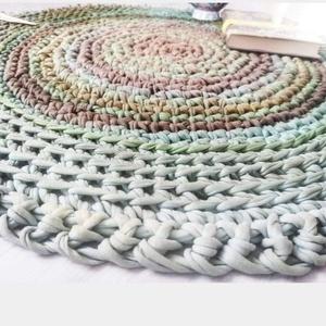 NANY the therapy carpet , Otthon & Lakás, Lakástextil, Szőnyeg, Horgolás, NANY\nThe Therapy Carpet - Színerápiás horgolt szőnyeg\n\nEgyedi, kézzel készített, színterápiás szőnye..., Meska