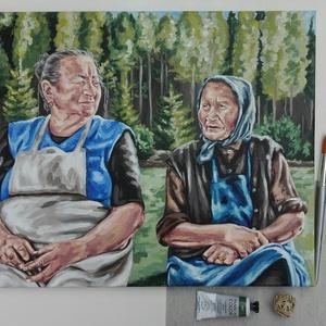 Portréfestés fotó alapján 40x50cm-es méretben (natipaintings) - Meska.hu