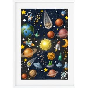 Bolygó csillagászat csillagok poszter KERETTEL, Szülinapi ajándék ovis zsúrba, Univerzum planéta égitest planetárium, Gyerek & játék, Gyerekszoba, Baba falikép, Dekoráció, Otthon & lakás, Képkeret, Gravírozás, pirográfia, Merkúr, Vénusz, Föld, Mars Jupiter, Szaturnusz, Uránusz, Neptunusz, Plútó - Ti már tudjátok? Igazi k..., Meska