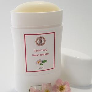 Tiaré virág természetes dezodor, Szépségápolás, Dezodor & Parfüm, Kozmetikum készítés, 100%ban természetes, aluminium mentes, egzotikus, elegáns és nőies tiaré virág illóolajával készült ..., Meska
