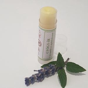 """Gyógy-ír citromfüves ajakbalzsam, Táska, Divat & Szépség, Szépség(ápolás), Egészségmegőrzés, Kozmetikum, Kozmetikum készítés, Természetes védelem ajkaid érzékeny bőrének! Kizárólag természetes vajakból, körömvirág olajból, \""""ba..., Meska"""