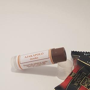 Csokis ajakápoló, Táska, Divat & Szépség, Szépség(ápolás), Egészségmegőrzés, Kozmetikum, Kozmetikum készítés, Természetes védelem ajkaid érzékeny bőrének! Kizárólag természetes összetevőkből, minőségi étcsokiva..., Meska