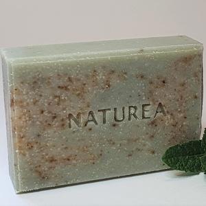 Friss citromfű-zöld agyag szappan, Szépségápolás, Szappan & Fürdés, Szappan, Szappankészítés, Minden bőrtípus szereti, nem szárítja a bőrt! \nA szappan alapját az extra szűz olivás citromfű macer..., Meska