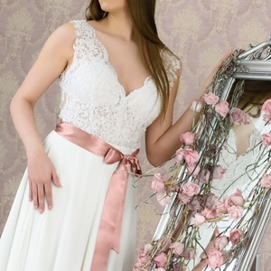 Menyasszonyi ruha , Táska, Divat & Szépség, Esküvői ruha, Ruha, divat, Esküvő, Menyasszonyi ruha, Varrás, Külön bodyból és tüllszoknyaból álló menyasszonyi ruha. 38 méret. , Meska