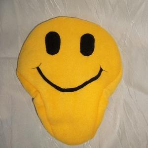 Smiley emoji bicikli nyereghuzat vízhatlan réteggel (NBibi) - Meska.hu