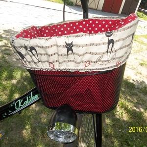 Kerékpárkosár táska, biciklikosár táska 2in1
