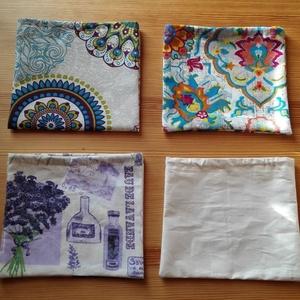 3 db-os tüllzsák-szett bevásárláshoz ajándék tárolóval - drapp (nectar) - Meska.hu