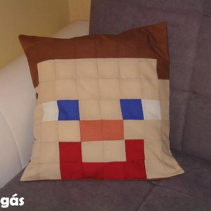 Minecraft  párma, Otthon & Lakás, Párna & Párnahuzat, Lakástextil, Patchwork, foltvarrás, Meska