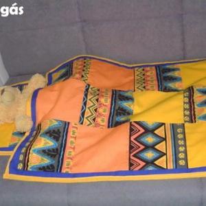 Játékbabának patchwork takaró és párna, Játék & Gyerek, Babaruha, babakellék, Baba & babaház, Patchwork, foltvarrás, Meska