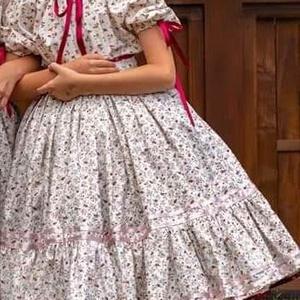 Szatmári lányka viselet, Ruha, Női ruha, Ruha & Divat, Varrás, A képen látható szatmári lányka rendet készítjük méretre, megrendelésre.\n\nAz ár tartalmazza:\n1 db - ..., Meska