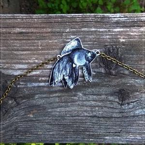 Aranyhal - Zsugorka medál láncon (Neverland) - Meska.hu