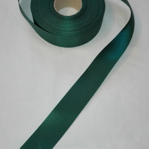 Szatén szalag, Textil, Szalag, pánt, Varrás, Mindenmás, Zöld színű szatén szalag.\n4 cm vastagságú, Meska