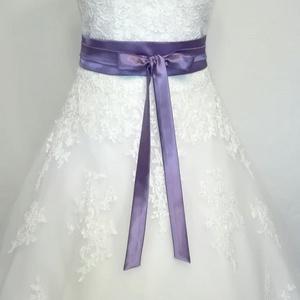 Megkötős szaténöv  esküvőre, Öv & Pánt, Kiegészítők, Esküvő, Varrás, Orgona lila színű megköthető szaténöv esküvői és alkalmi ruhára.\nDerék méret:99 cm-ig rendelhető és ..., Meska