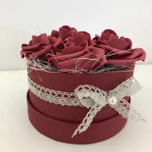 Virág (rózsa) box / doboz Anyák napjára, Díszdoboz, Dekoráció, Otthon & Lakás, Kötés, Mindenmás, A tökéletes ajándékot keresed? Nincs még ötleted? Olyan virágot szeretnél, mely örökké tart?\n\nHa val..., Meska