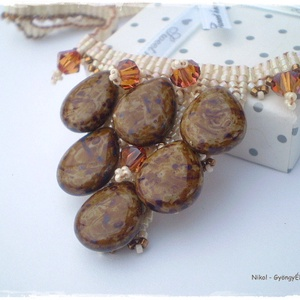 Cairo collar  fülbevaló (nikolbijou) - Meska.hu