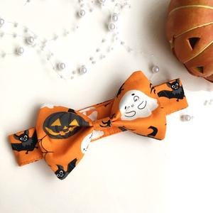 Halloween kutya-csokornyakkendő, Ruha & Divat, Jelmez & Álarc, Jelmez, Varrás, Egyedi tervezésű és készítésű, általam szabott és varrt halloweeni kutya-csokornyakkendő.\nA barátnőm..., Meska