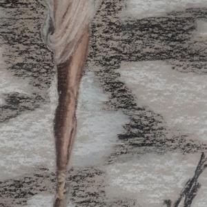 Elegáns balerina modern pasztell festmény (Nikolettart) - Meska.hu