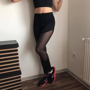 Fitness fekete betétes leggings (nikolfashion) - Meska.hu