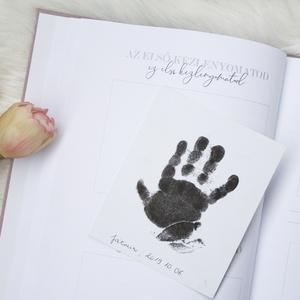 Névre szóló babanapló, album (kisfiú) (nimindesign) - Meska.hu