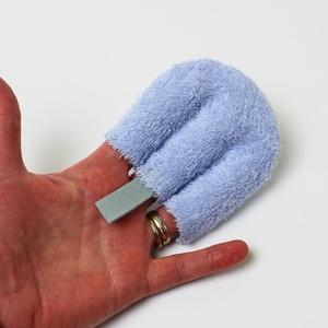 3 ujjas arctisztító párna - ÚJ TERMÉK, Szépség(ápolás), Táska, Divat & Szépség, Fürdőszobai kellék, NoWaste, Varrás, Forradalmi újítás a sminklemosás történetében. Mit tud, amit a korongok nem? Könnyebb megfogás, könn..., Meska