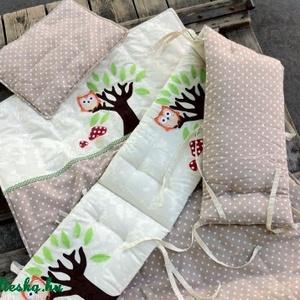 BAGLYOS ágynemű - beige-fehér - takaró+párna (NoaNoa) - Meska.hu