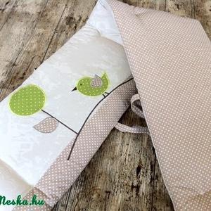 Egyedi applikált rácsvédő babaágyba (NoaNoa) - Meska.hu