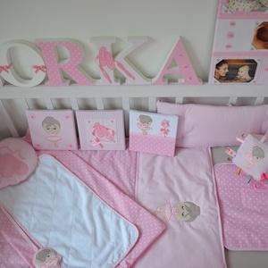 Egyedi applikált rácsvédő babaágyba -Balerina style (NoaNoa) - Meska.hu
