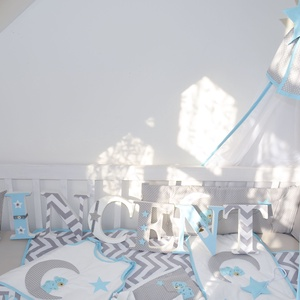 BALDACHIN - kék csillaggal (659.) (NoaNoa) - Meska.hu