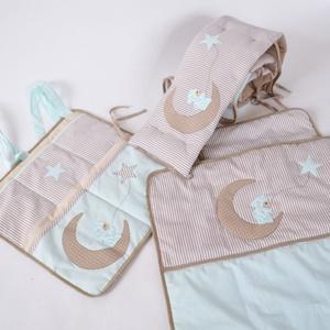Macis - Egyedi applikált rácsvédő babaágyba  (NoaNoa) - Meska.hu