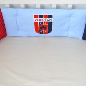 Focis Rolika rácsvédő - fehér, kék, piros (NoaNoa) - Meska.hu