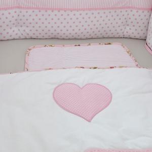Egyedi  rácsvédő babaágyba - rózsaszín álom (NoaNoa) - Meska.hu