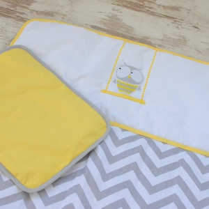 Baglyos ágynemű - takaró+párna (NoaNoa) - Meska.hu