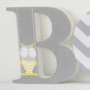 BETŰK, BABABETŰK - BOTI style (258.), Dekoráció, Otthon & lakás, Gyerek & játék, Gyerekszoba, Festett tárgyak, Mindenmás, Egyedileg díszített polisztirol habbetűket kínálunk baba- és gyerekszobába. \n\nA feltüntetett ár 1 db..., Meska