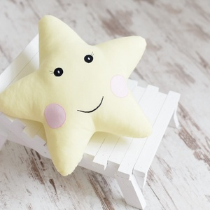 Csillag párna - Happy Pillows  (NoaNoa) - Meska.hu