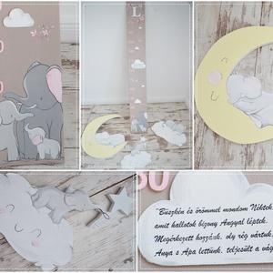MAGASSÁGMÉRŐ -cuki elefántos (941) (NoaNoa) - Meska.hu