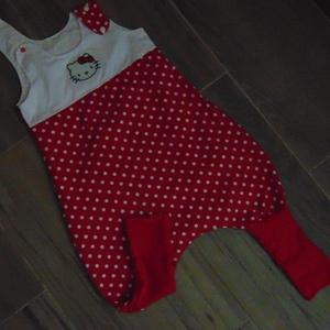 Hello Kitty-s nyári tipegő 86-os (nomin) - Meska.hu
