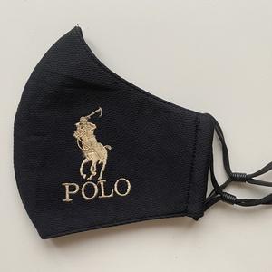 Polo design maszk, arcmaszk, Maszk, Arcmaszk, Férfi & Uniszex, Varrás, Hímzés, A design anyagból készült szájmaszk anyaga kívül vászon, és belső részén jól átlélegezhető polieszte..., Meska